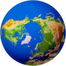 Arctic Northern Passage Ocean Transit
