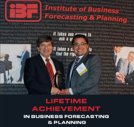 Lifetime Achievement in Business Forecasting & Planning