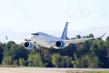 Bombardier C-Series First maiden Flight