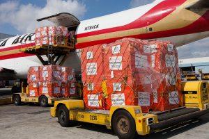 Ebola humanitarian relief