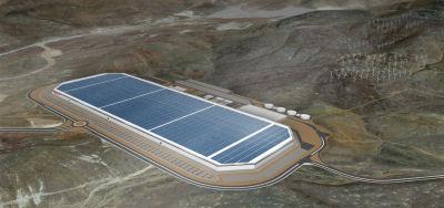 Tesla battery gigafactory