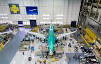 Boeing 737 Max Production Line