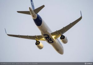 Airbus A320neo test aircraft