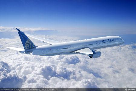A350-1000_United