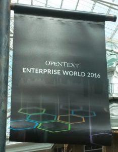 OpenText EW 2016 Banner