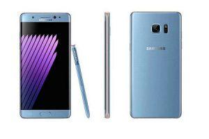Recalled Samsung Galaxy Note 7