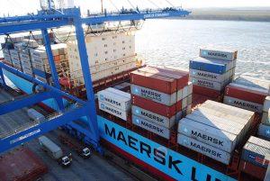 Maersk Con Ship