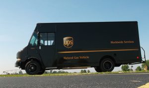 UPS Natural Gas Van