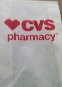 CVS Pharmacy bag