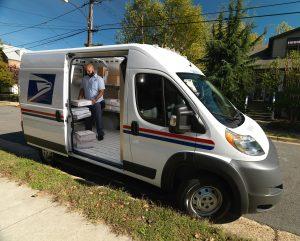 USPS Promaster Van